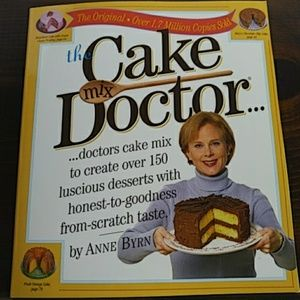 """The Cake """"mix"""" Doctor Cakes Recipe Book"""